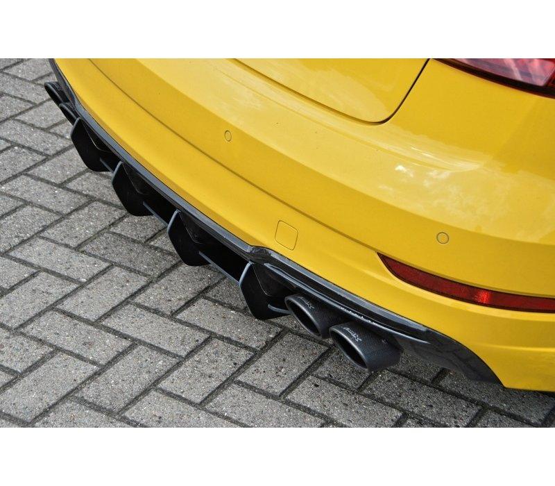 Aggressive Diffusor für Audi S3 8V Facelift