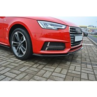 Front splitter V.1 voor Audi A4 B9 S line / S4
