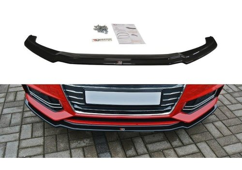 Maxton Design Front splitter V.1 voor Audi A4 B9 S line / S4