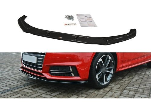 Maxton Design Front splitter V.2 voor Audi A4 B9 S line / S4