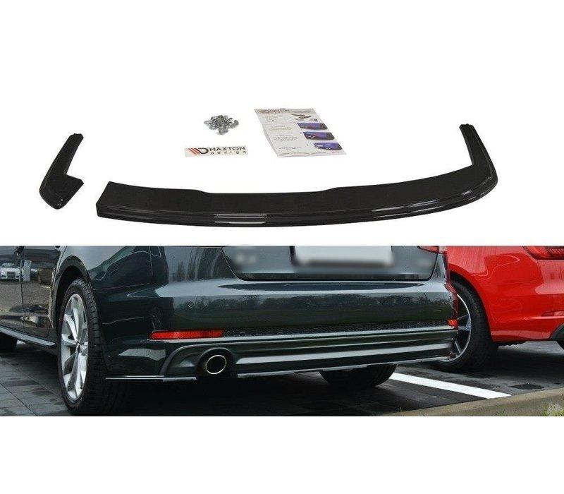 Rear splitter voor Audi A4 B9 S line Sedan