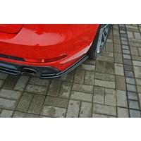 Rear splitter for Audi A4 B9 S line Avant