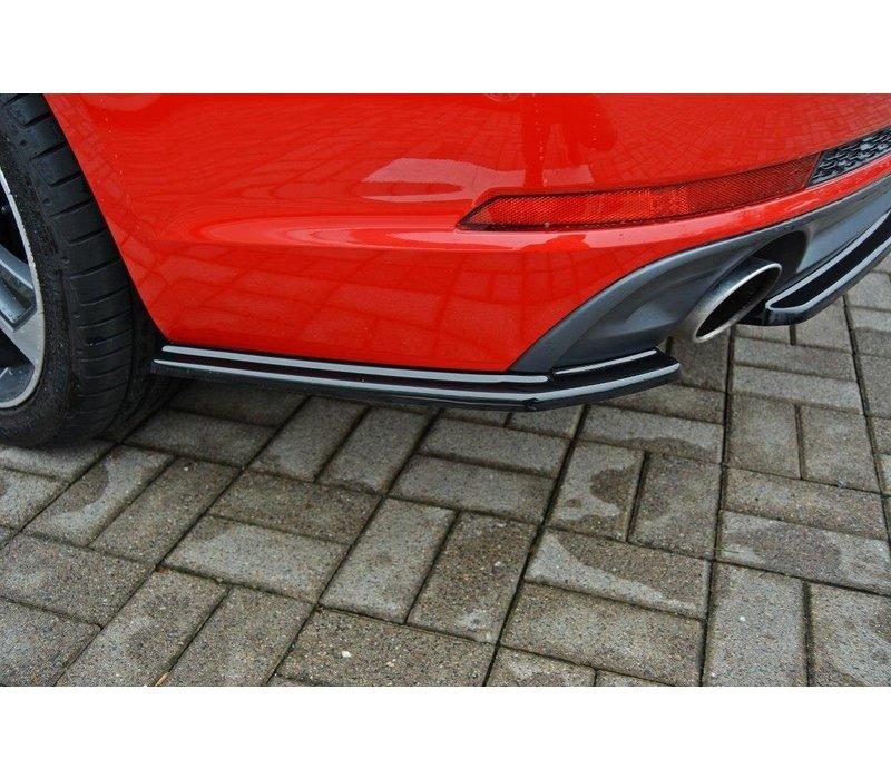 Rear splitter für Audi A4 B9 S line Avant