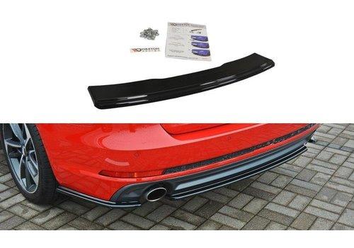 Maxton Design Rear splitter voor Audi A4 B9 S line Avant