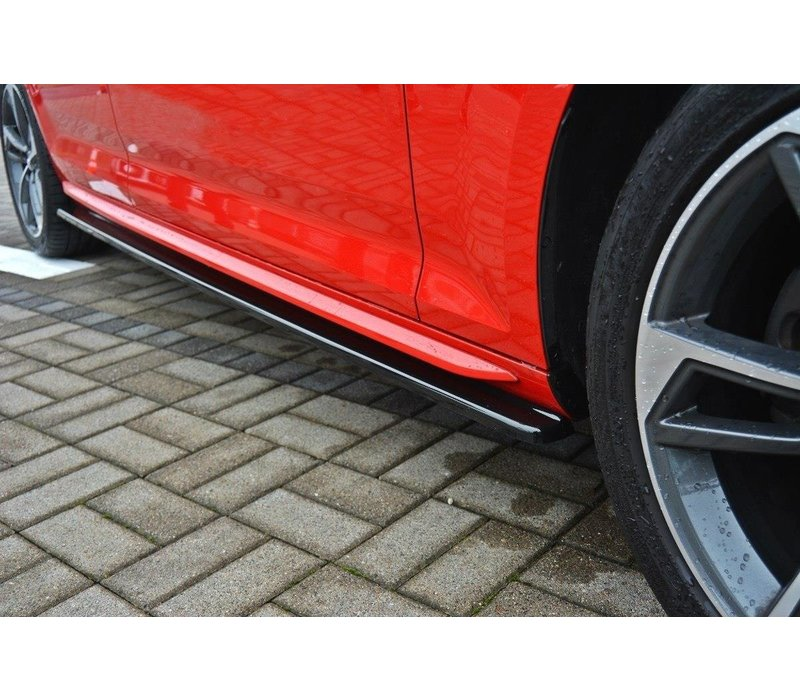 Side Skirts Diffuser voor Audi A4 B9 S line / S4