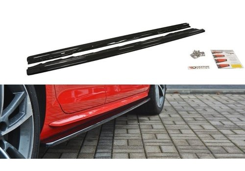 Maxton Design Side Skirts Diffuser voor Audi A4 B9 S line / S4