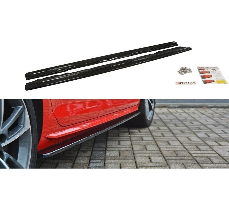 Side Skirts Diffuser for Audi A4 B9 S line / S4