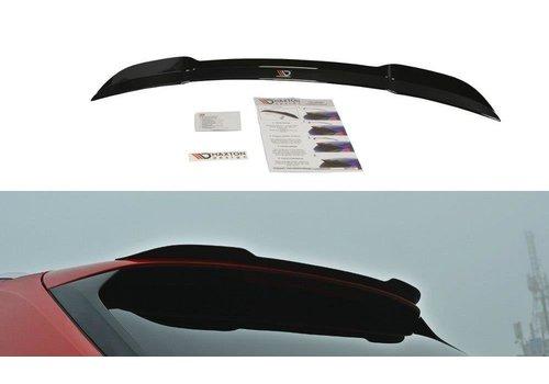 Maxton Design Dakspoiler Extension voor Audi A4 B9 Avant S line / S4