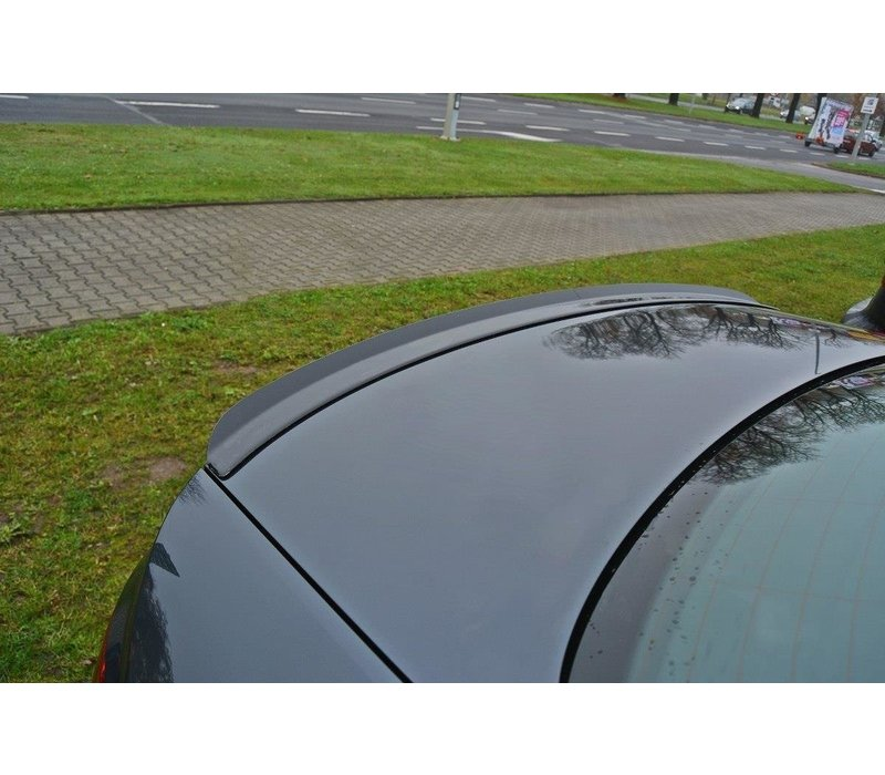 Tailgate spoiler lip for Audi A4 B9 Sedan S line