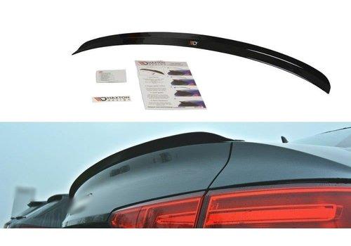 Maxton Design Heckspoiler lippe für Audi A4 B9 Limousine S line