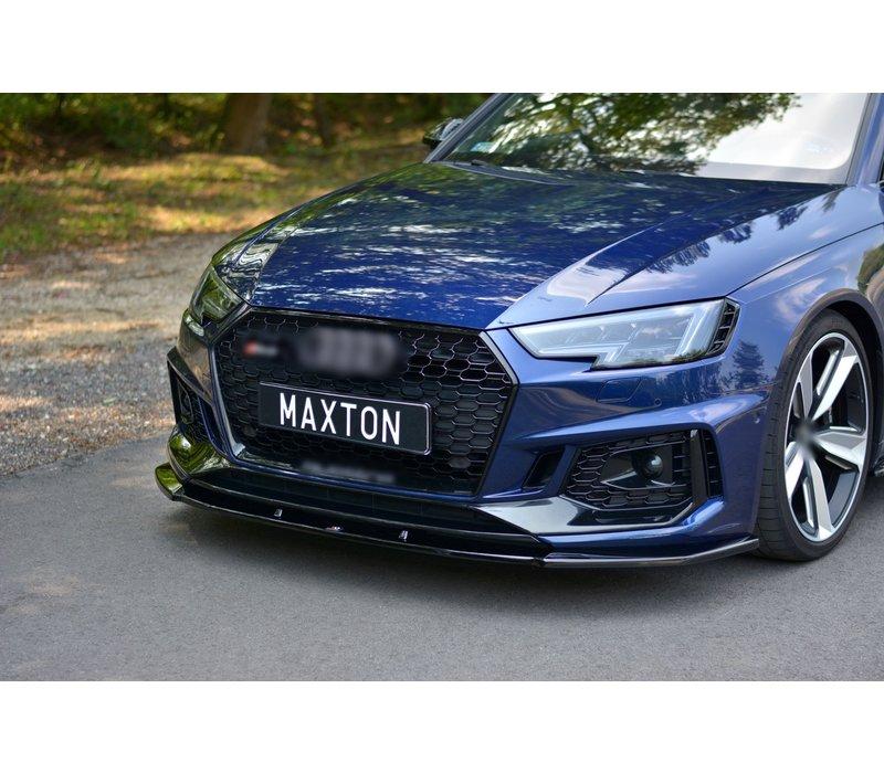 Front splitter V.1 voor Audi RS4 B9