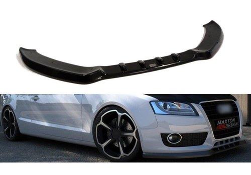 Maxton Design Front splitter for Audi A5 8T