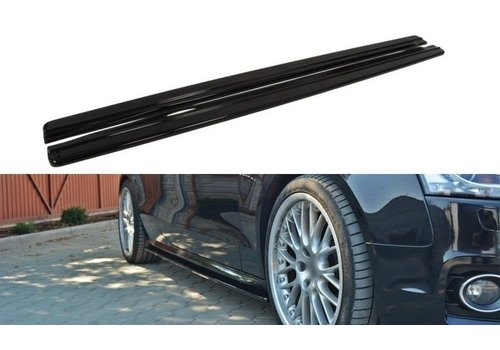 Maxton Design Side Skirts Diffuser for Audi A5 8T / S5 / S line Coupe / Cabrio