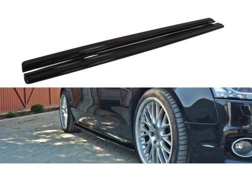 Maxton Design Side Skirts Diffuser für Audi A5 8T / S5 / S line Coupe / Cabrio
