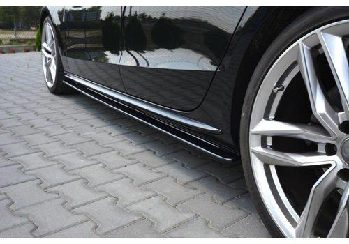 Maxton Design Side Skirts Diffuser für Audi A5 8T / S5 / S line Sportback