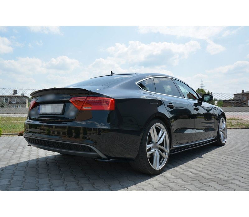 Side Skirts Diffuser voor Audi A5 8T / S5 / S line Sportback