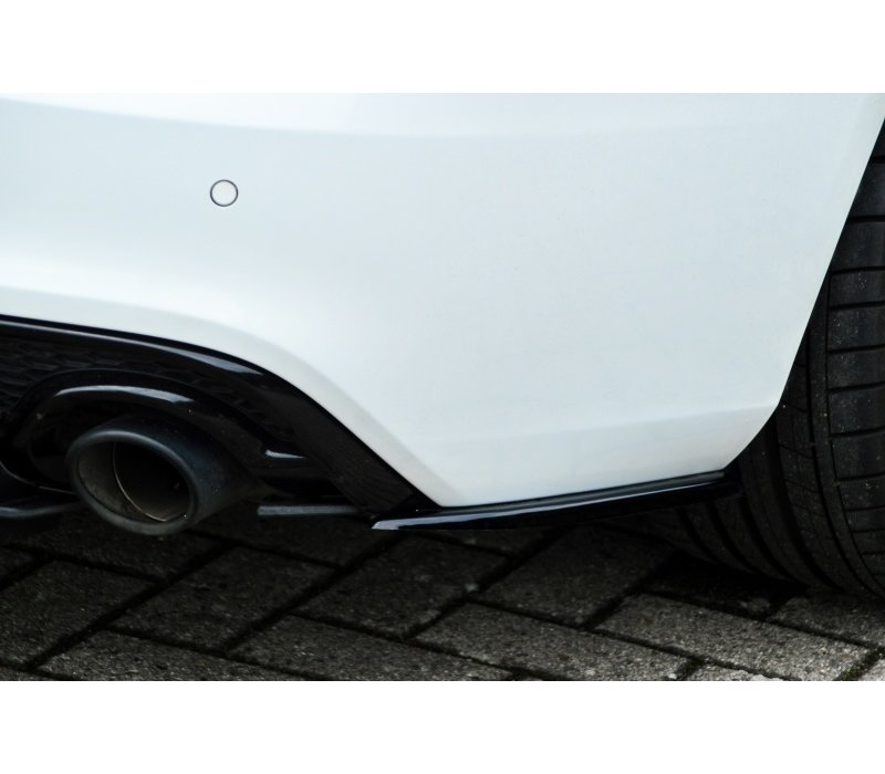 Side Splitter voor Audi A5 8T S line Facelift Coupe / Cabrio
