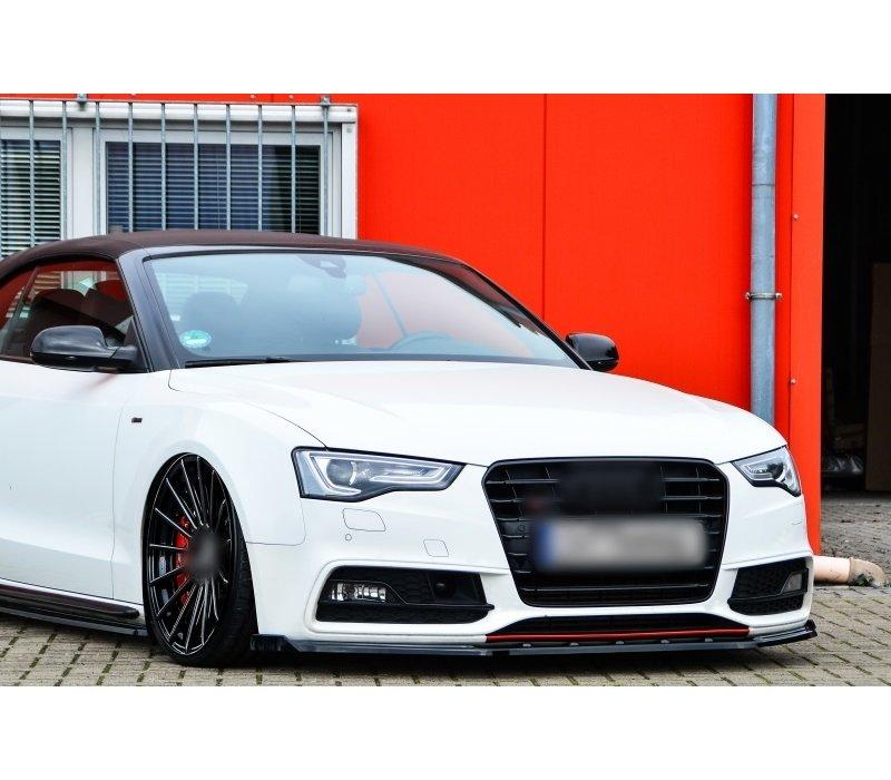 Front Splitter V.2 voor Audi A5 B8 Facelift S line /  S5