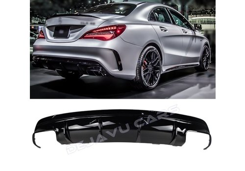 OEM LINE Facelift CLA 45 AMG Look Diffuser for Mercedes Benz CLA-Class W117 / C117 / X117