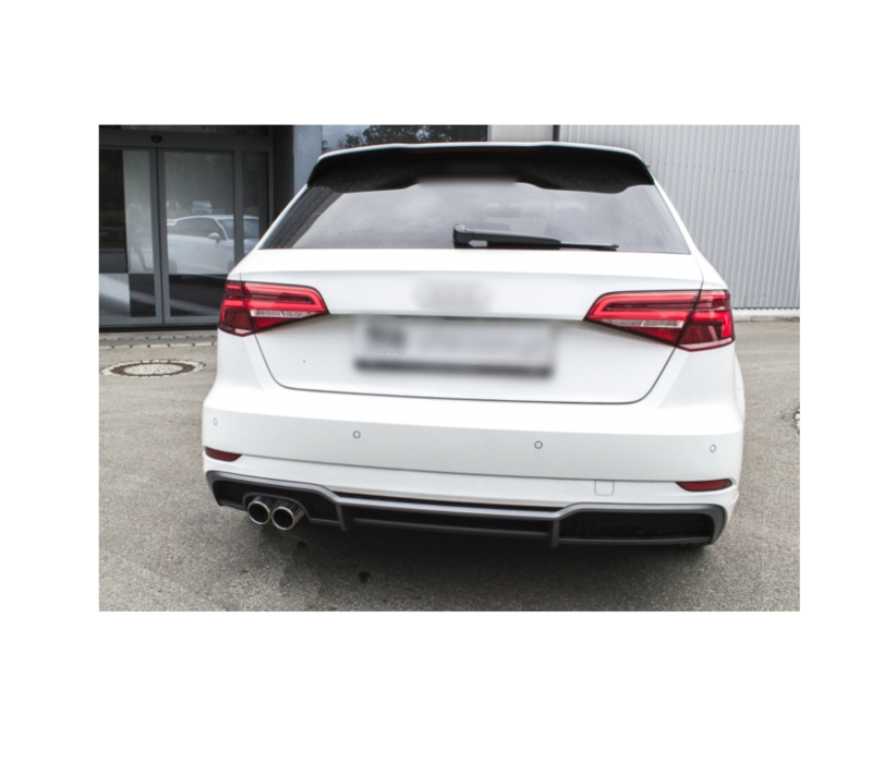 Sport Exhaust system for Audi A3 8V Sportback 1,4 92kW