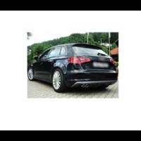 Sport Uitlaat systeem voor Audi A3 8V Sportback 1,4 92kW