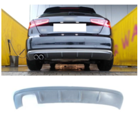 S3 look Diffusor für Audi A3 8V Sportback / Hatchback