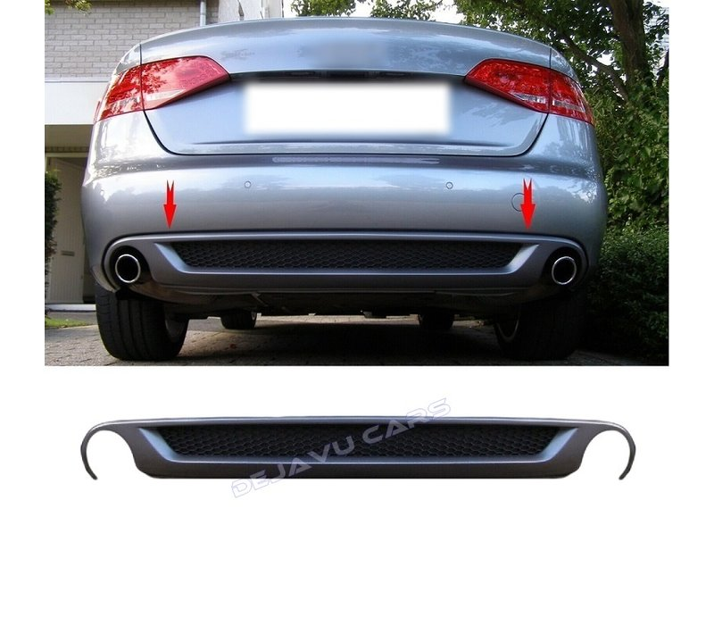 S line Look Diffuser V.2 for Audi A4 B8