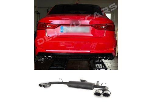 Ulter Sport S3 Look Sport Uitlaat systeem voor Audi A3 8V Sedan