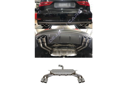 OEM LINE S3 Look Auspuffanlage für Audi A3 8V Limousine