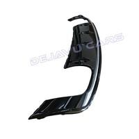 S3 Look Diffuser Black Edition + Sport Uitlaat systeem voor Audi A3 8V S line