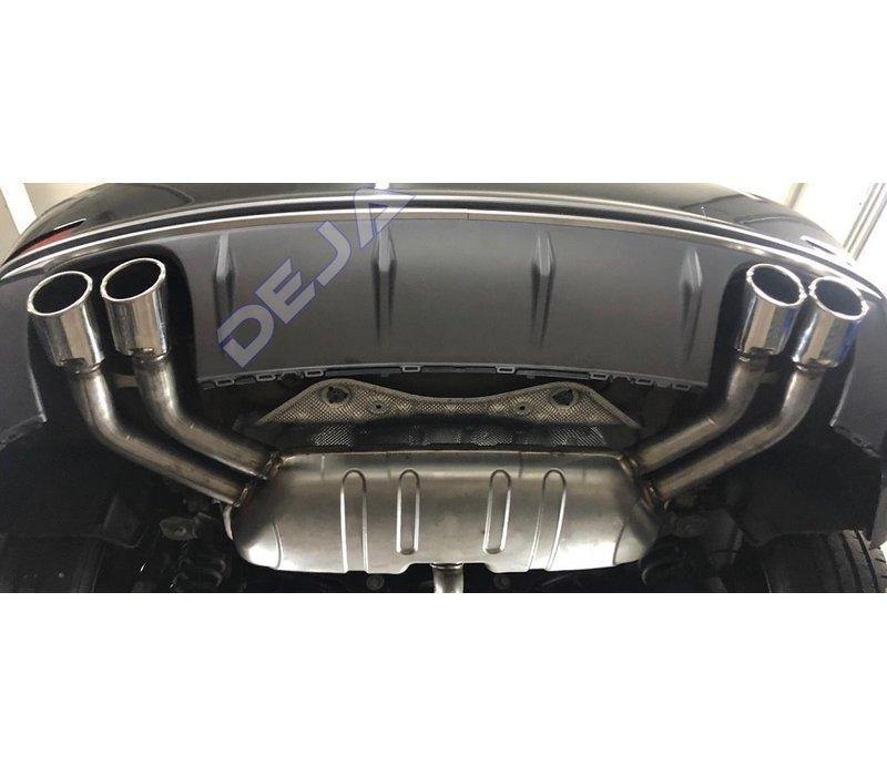 S3 Look Uitlaat systeem voor Audi A3 8V Sportback / Hatchback