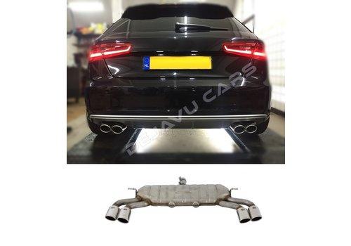 OEM LINE® S3 Look Exhaust system for Audi A3 8V Sportback / Hatchback