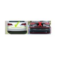 S3 Look Diffusor Black Edition für Audi A3 8V Sportback / Hatchback