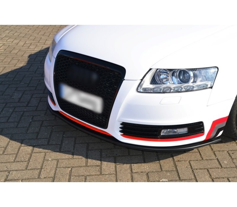 Front Splitter voor Audi A6 4F C6 Facelift