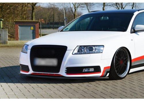 OEM LINE Front Splitter voor Audi A6 4F C6 Facelift