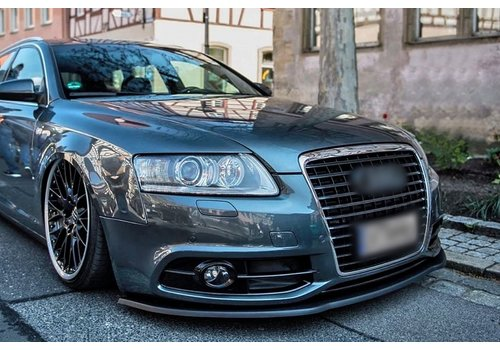 OEM LINE Front Splitter voor Audi A6 4F C6 Facelift S line