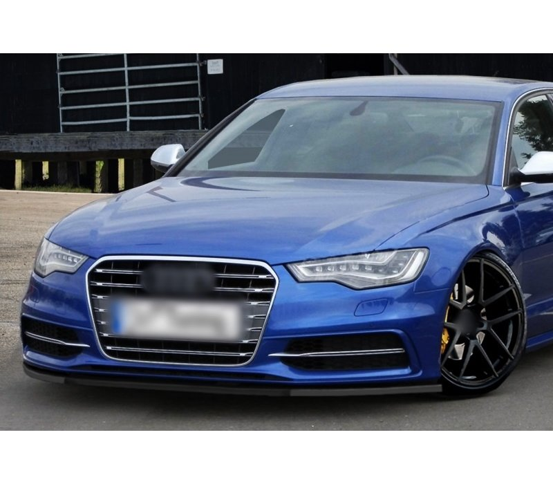 Front Splitter for Audi A6 C7 4G S line / S6