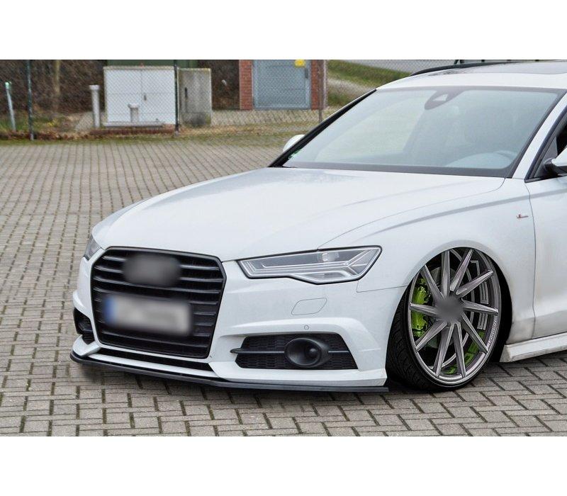 Front Splitter voor Audi A6 4G C7.5 Facelift S line / S6