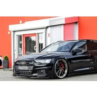 Front Splitter V.2 voor Audi A6 4K C8 S line / S6
