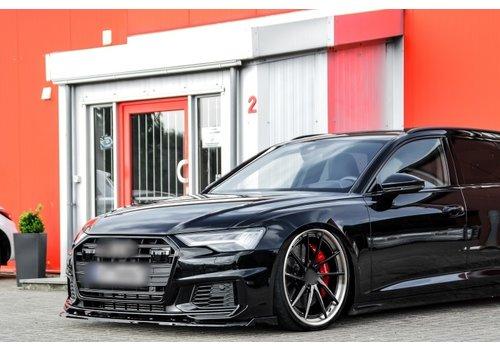 OEM LINE Front Splitter V.2 voor Audi A6 4K C8 S line / S6