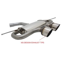R32 R20 Look Sport Exhaust System for Volkswagen Golf 5 & Golf 6