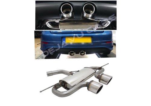 Novus Automotive R32 R20 Look Sport Exhaust System for Volkswagen Golf 5 & Golf 6