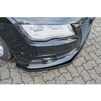 Front Splitter voor Audi A7 4G S line / S7