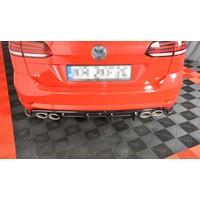 Aggressive Diffuser voor Volkswagen Golf 7 R Variant Facelift