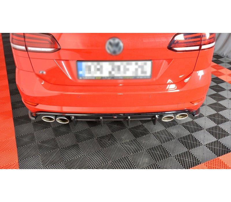 Aggressive Diffusor für Volkswagen Golf 7 R Variant Facelift