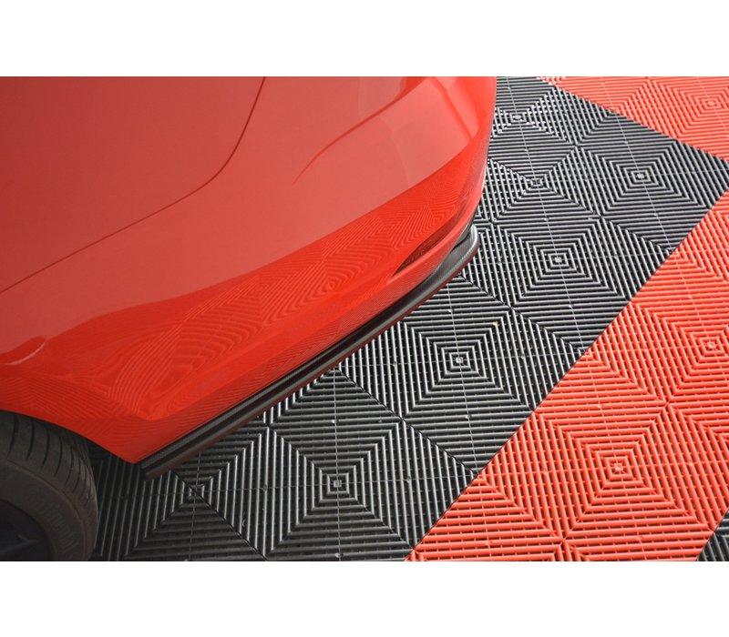 Rear Side Splitter V.1 for Volkswagen Golf 7 R Variant Facelift
