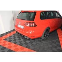 Rear Side Splitter V.1 voor Volkswagen Golf 7 R Variant Facelift