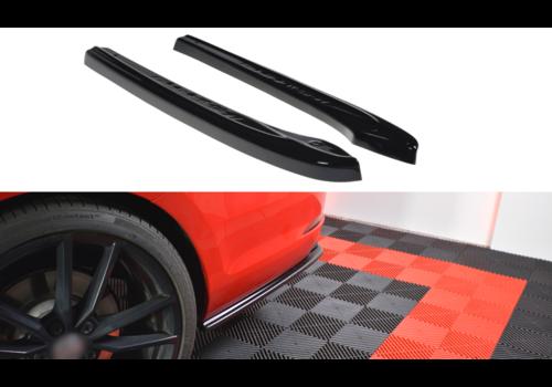 Maxton Design Rear Side Splitter V.1 for Volkswagen Golf 7 R Variant Facelift