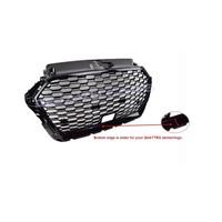 RS3 QUATTRO Look Kühlergrill für Audi A3 8V mit ACC