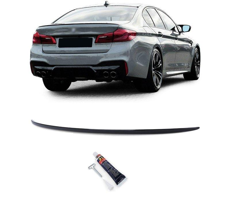 M Look Achterklep spoiler lip voor BMW 5 Serie G30 / G38